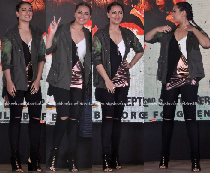 Sonakshi Sinha Wears Zara To Akira Song Launch-1
