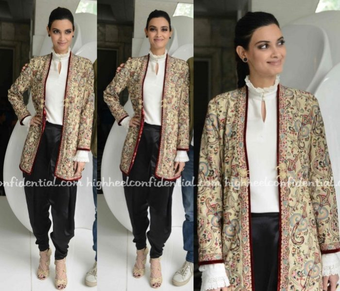 diana-penty-patine-happy-bhaag-jayegi-promotions-delhi