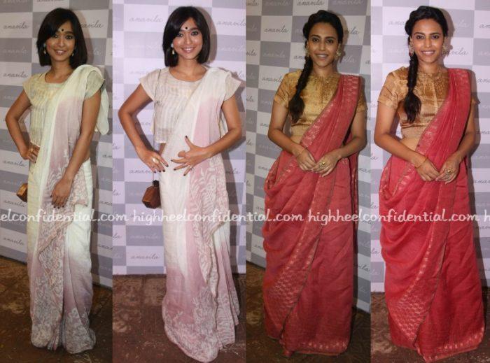 sayani-gupta-swara-bhaskar-anavila-store-launch