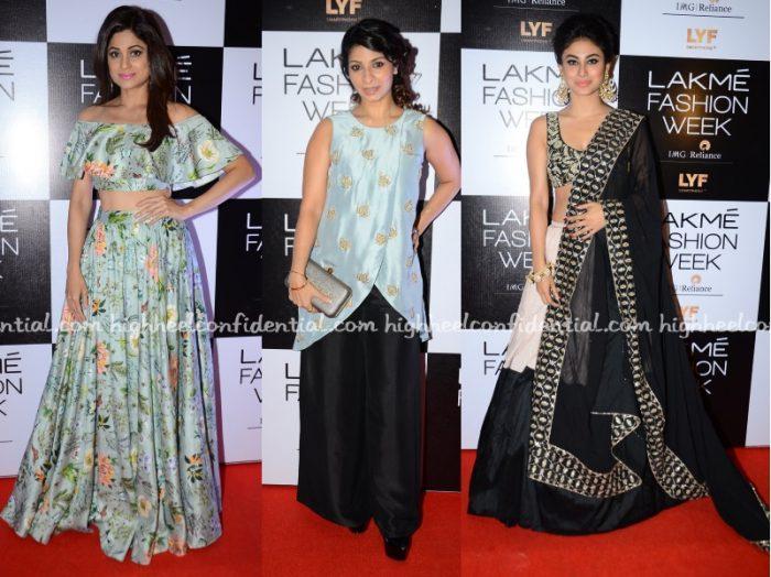 shamita-tanisha-mouni-payal-singhal-lakme-fashion-week-2016