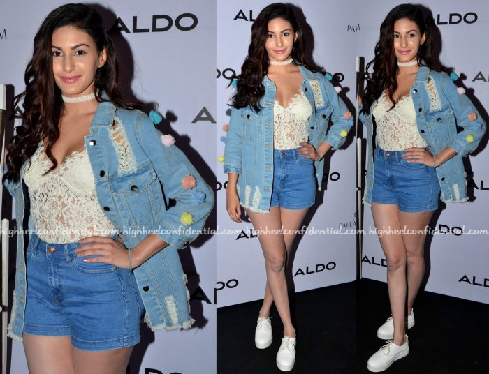 Amyra Dastur Wears Zara And Madison To Aldo's Fall Collection Preview