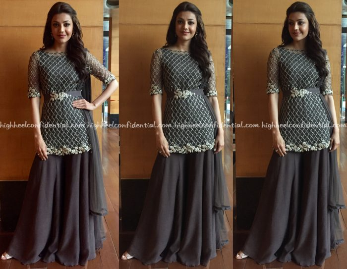 kajal-aggarwal-wears-ridhi-mehra-to-a-bru-coffee-event-in-chennai-1