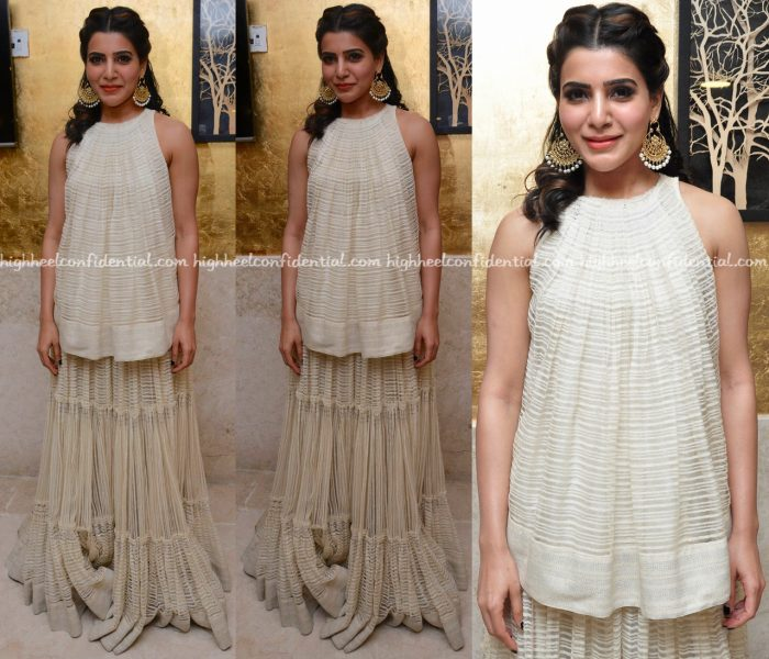 samantha-prabhu-wears-urvashi-kaur-to-an-event-in-hyderabad