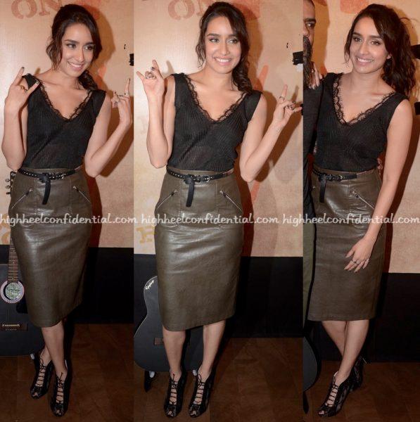 Shraddha Kapoor In Zara At Rock On 2 Trailer Launch