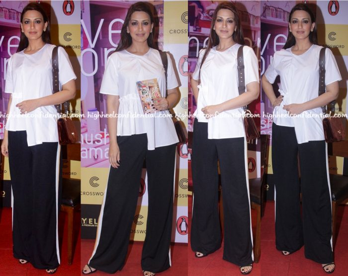 sonali-bendre-wears-cos-and-bershka-to-anusha-subramanians-book-never-gone-launch
