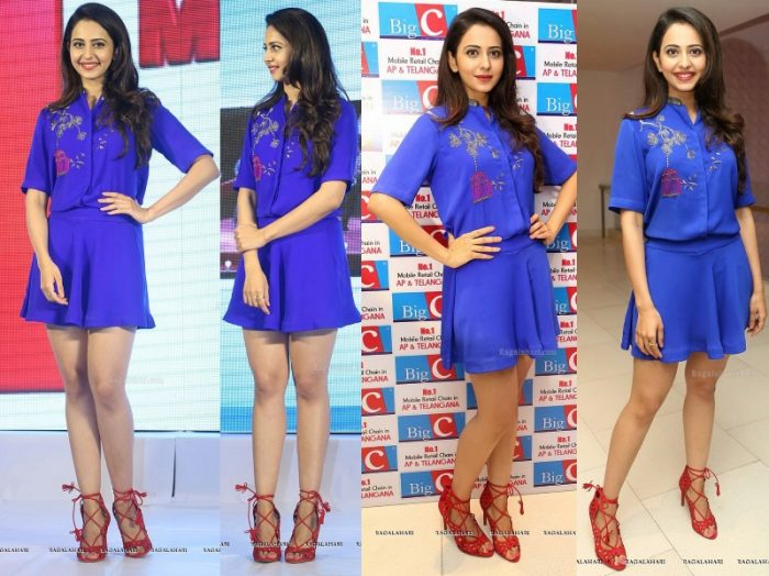 rakul-preet-shahin-mannan-big-c-brand-ambassador-event