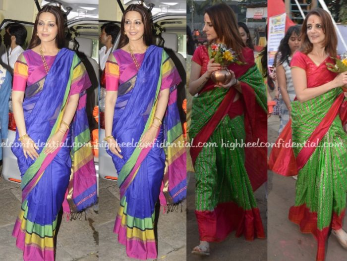 sonali-bendre-sussanne-khan-ganesh-chaturthi-celebrations