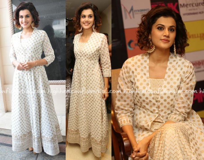taapsee-anita-dongre-pink-press-meet