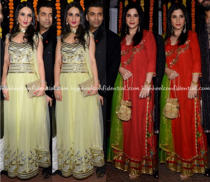 anu-dewan-and-maheep-kapoor-at-ekta-kapoors-and-bachchans-diwali-parties-2016-1