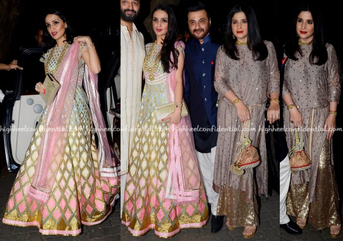 anu-dewan-and-maheep-kapoor-at-ekta-kapoors-and-bachchans-diwali-parties-2016-2