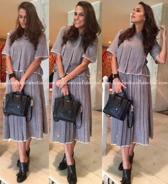 neha-dhupia-wears-anamika-khanna-and-urvashi-kaur-to-no-filter-neha-promotions-2