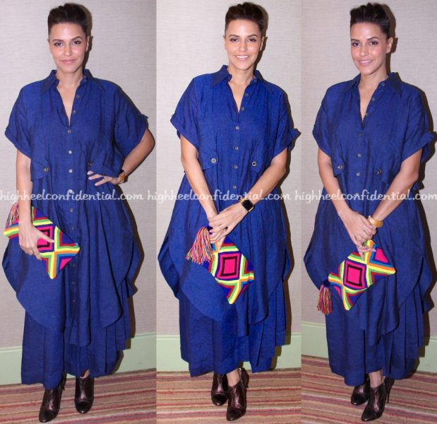 neha-dhupia-wears-chola-to-no-filter-neha-launch