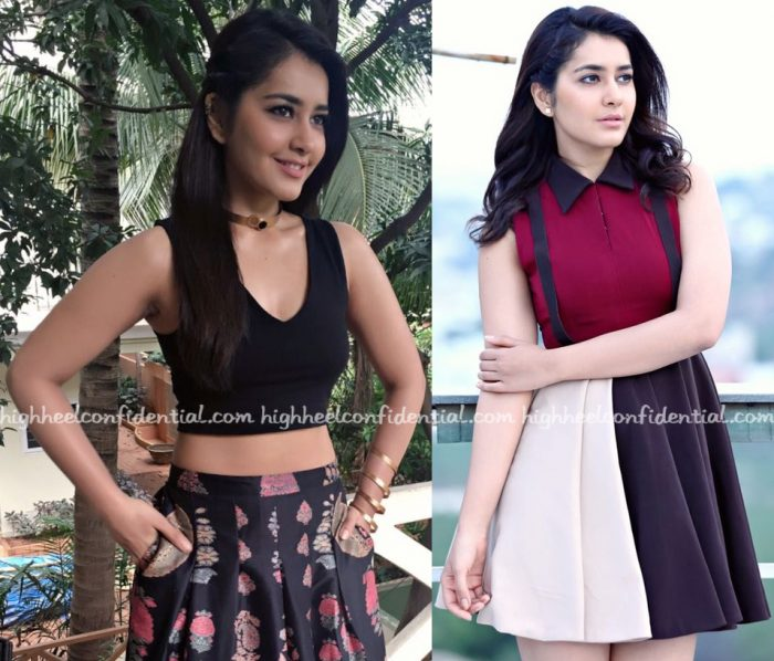 raashi-khanna-wears-forever-new-ritu-kumar-and-ruvya-to-hyper-promotions-2