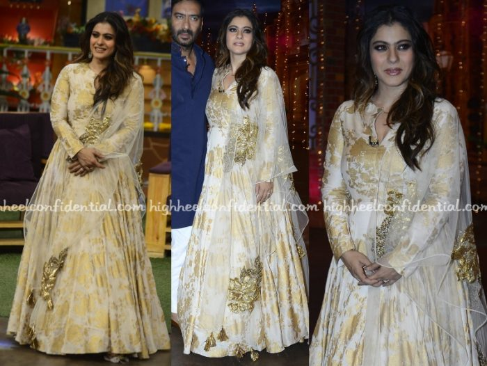 kajol-bhumika-sharma-shivaay-promotions-kapil-sharma-sets