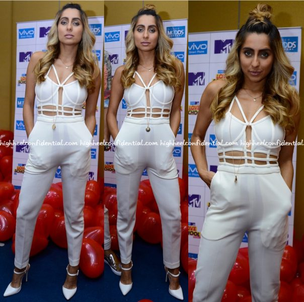 anusha-dandekar-wears-farah-sanjana-to-mtv-love-school-promotions