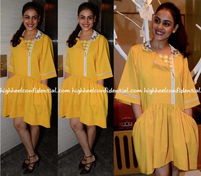 genelia-deshmukh-wears-aniket-to-mother-care-event-1