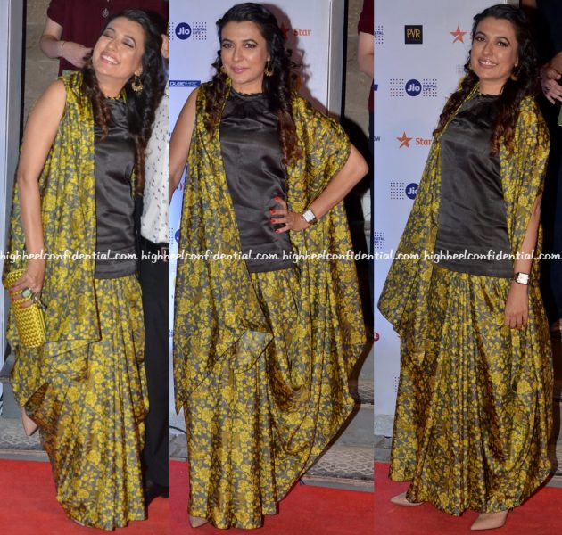 mini-mathur-wears-raw-mango-to-mami-mumbai-film-festival-2016-opening-night
