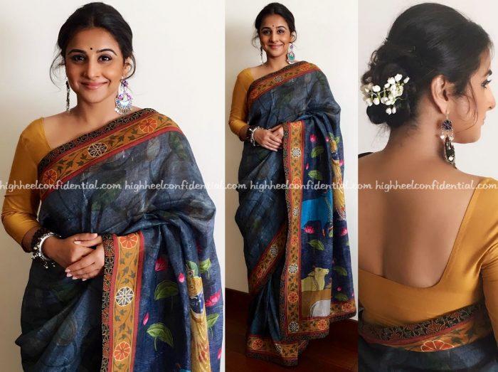 vidya-balan-wears-pratham-to-kahaani-2-promotions