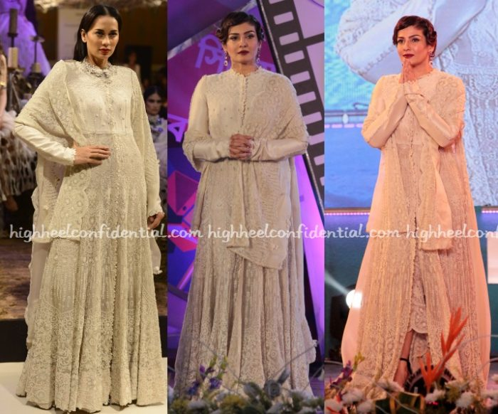 raveena-tandon-anamika-khanna-couture-kolkata-film-festival-closing