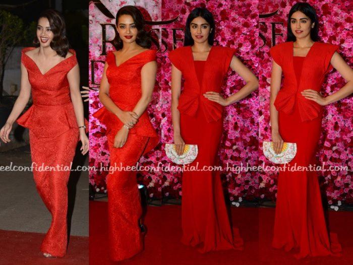 surveen-chawala-adah-sharma-tanieya-khanuja-lux-golden-rose-awards-2016