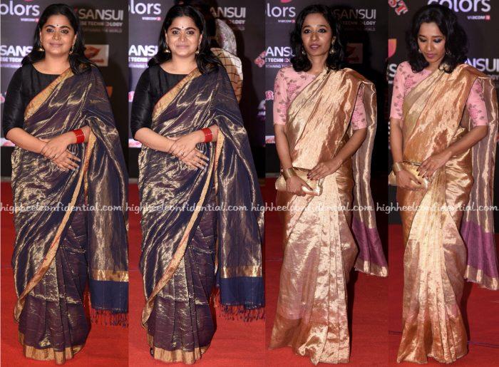 ashwiny-iyer-tiwari-and-tillotama-shome-at-stardust-awards-2016