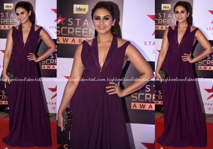 huma-qureshi-at-screen-awards-2016-1