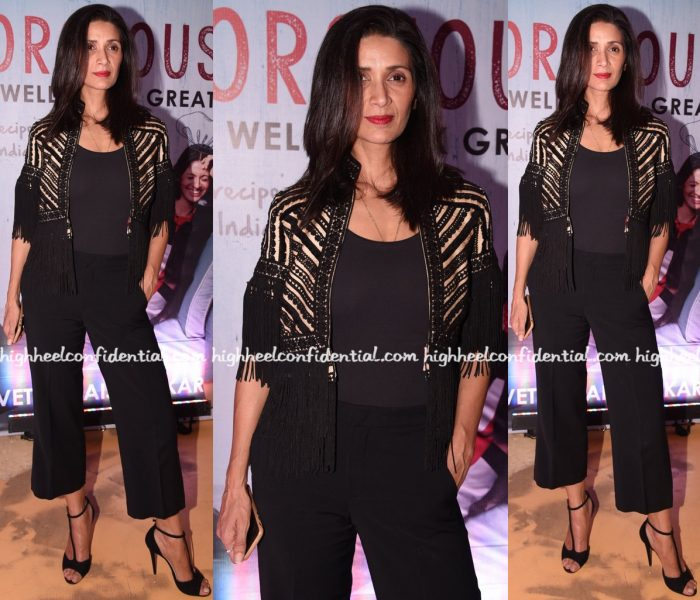 mehr-jessia-rampal-wears-surily-g-to-shvetha-jaishankars-book-launch