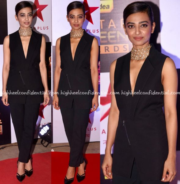 radhika-apte-wears-rohit-gandhi-rahul-khanna-to-screen-awards-2016-1