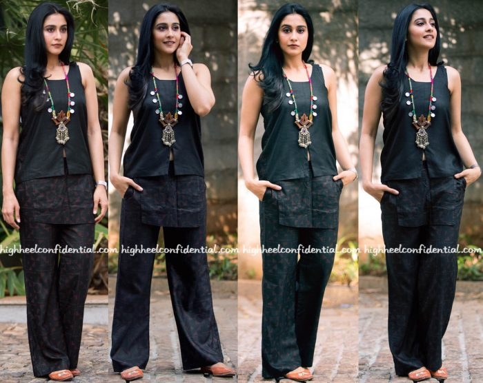 regina-cassandra-wears-blueprint-to-an-event-in-hyderabad