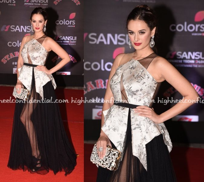 evelyn-sharma-gaviin-miguel-stardust-awards-2016