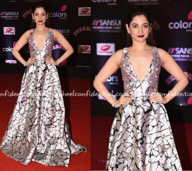 tamannaah-bhatia-peter-langner-stardust-awards-2016