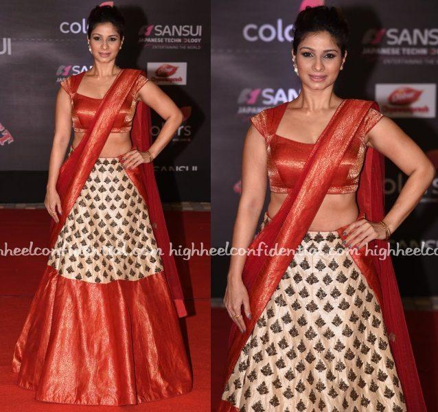 tanishaa-mukerji-mayyur-girotra-stardust-awards-2016