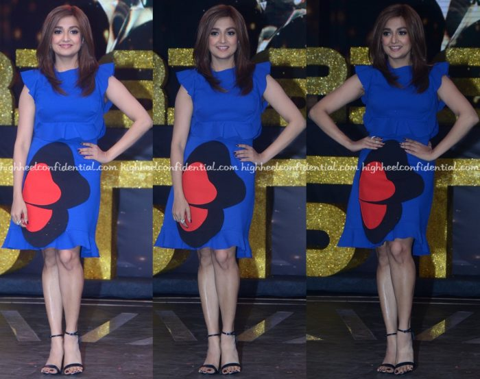 Monali Thakur Wears Gauri And Nainika To Rising Star Sets