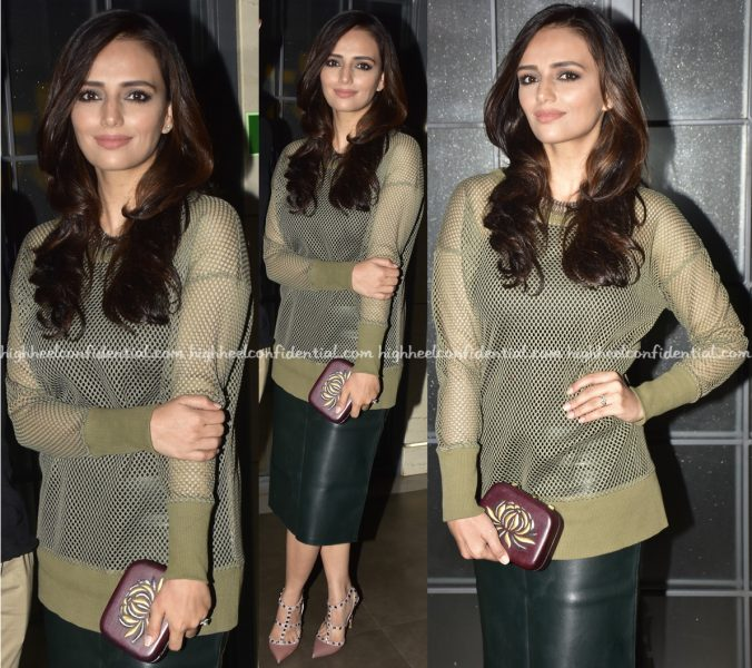 Roshni Chopra Wears Banana Republic And Zara While Out In Mumbai