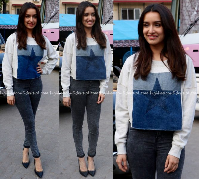 Shraddha Kapoor At OK Jaanu Promotions