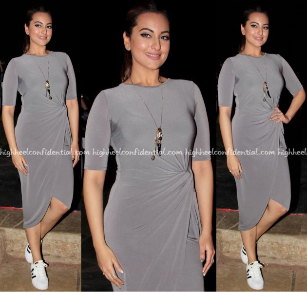 Sonakshi Sinha Wears Lulu And Sky To Times Fresh Face Event