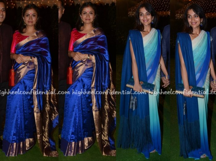anusha-bhagat-priyanka-alva-screwvala-chandhok-reception
