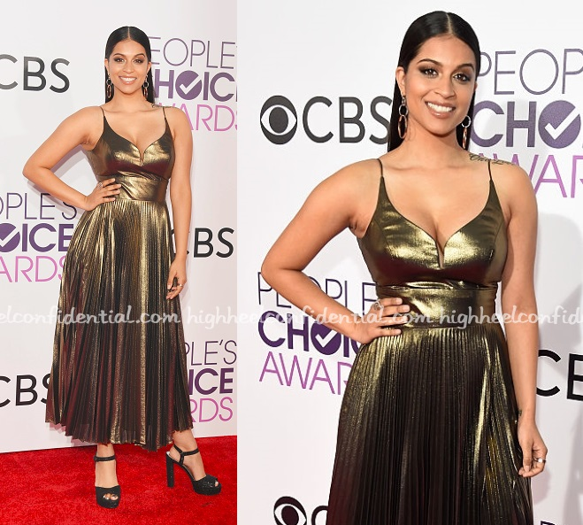 lilly-singh-nicole-miller-peoples-choice-awards-2017-1
