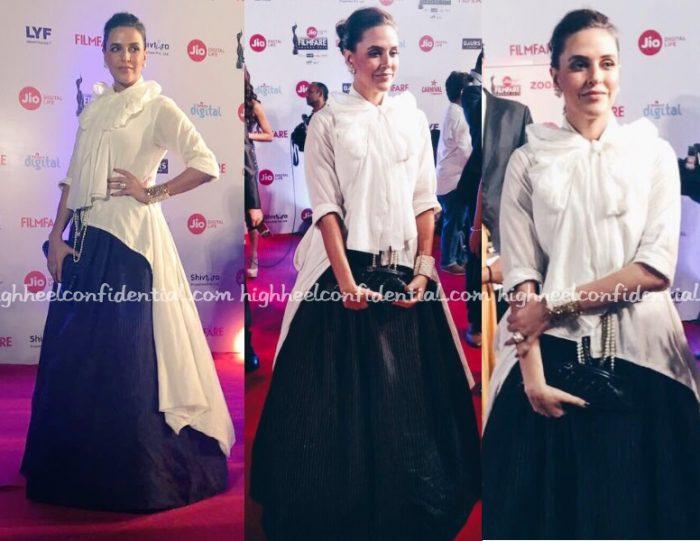 neha-dhupia-chola-filmfare-awards-2017