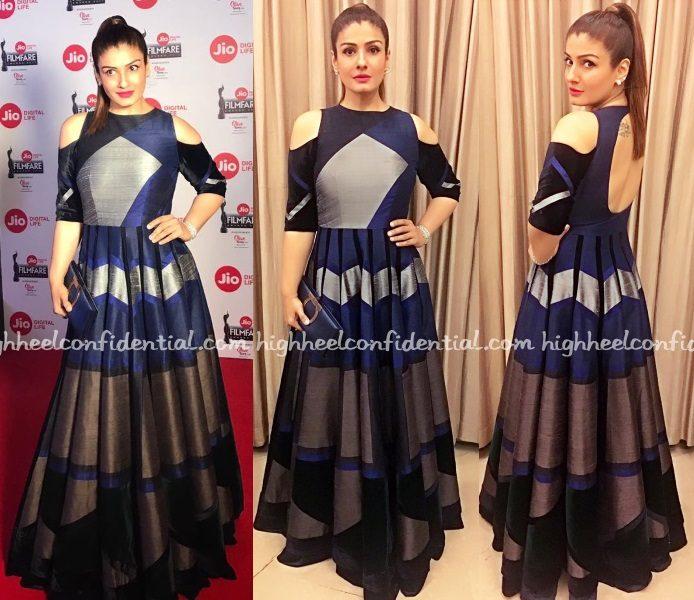 raveena-tandon-manish-malhotra-filmfare-nominations-party-2017