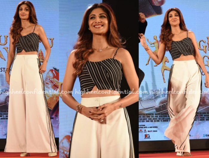 shilpa-shetty-bennch-bodice-kungfu-yoga-press-meet