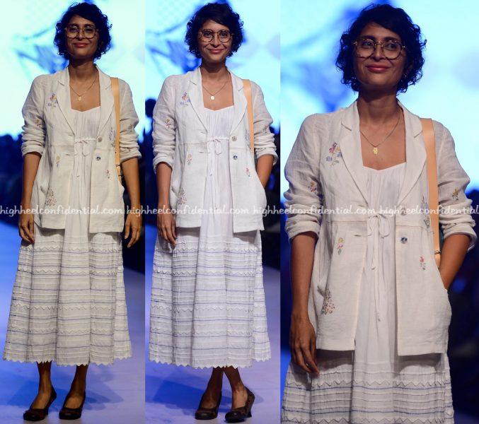 Kiran Rao At Lakme Fashion Week Summer:Resort 2017
