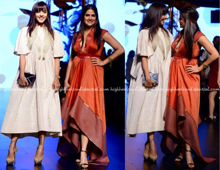 Manasi Scott And Sona Mohapatra At Lakme Fashion Week Summer:Resort 2017-1
